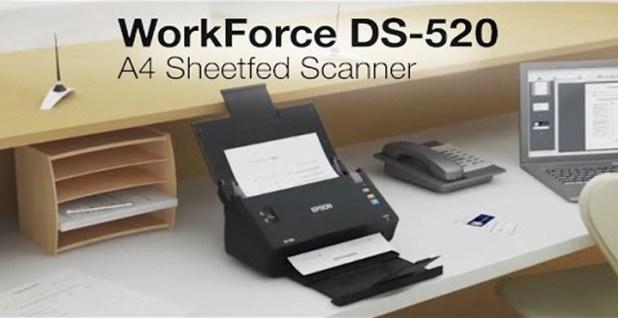 Harga dan Spesifikasi Scanner ADF Terbaik EPSON DS-520
