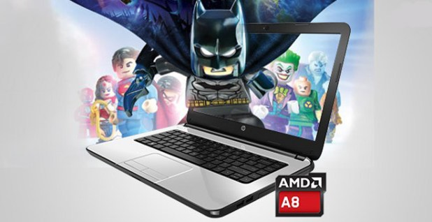 HP 14-an004au Notebook Gaming Harga Murah AMD A8 VGA Radeon R5