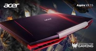 Harga Spesifikasi Acer Aspire VX 15, Laptop Gaming Tangguh i7-7700HQ dan GTX 1050 Ti