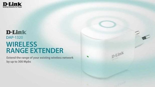 D-Link DAP-1320 N300 Wireless Range Extender