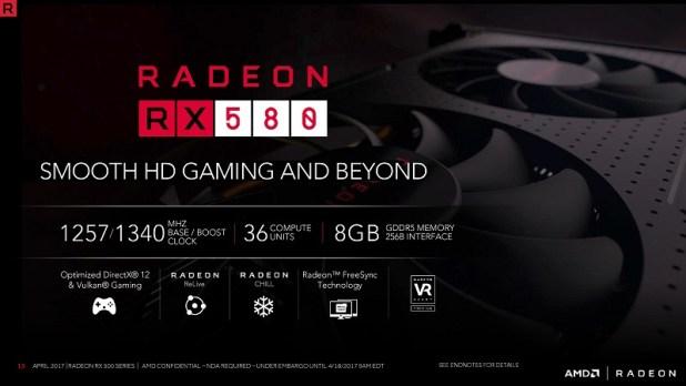 Harga dan Spesifikasi VGA AMD Radeon RX 580