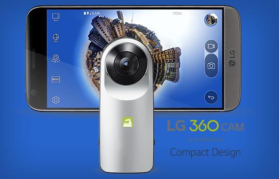 Kamera 360 derajat terbaik LG 360 CAM