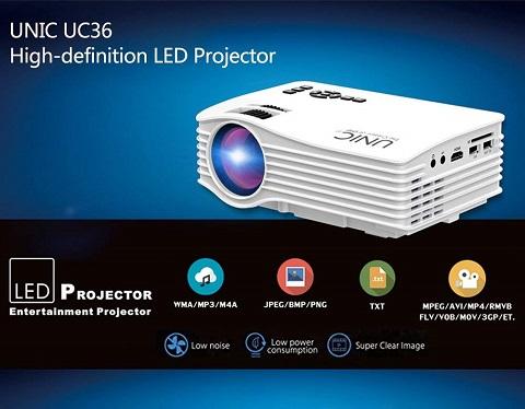 Mini Proyektor Terbaik Harga Murah UNIC UC36