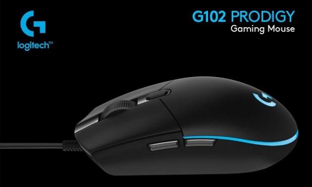 Mouse Gaming Macro Terbaik LOGITECH G102 Prodigy