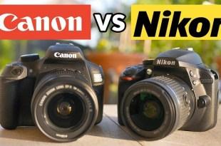 Perbandingan Kamera Canon vs Kamera Nikon, Bagus Mana
