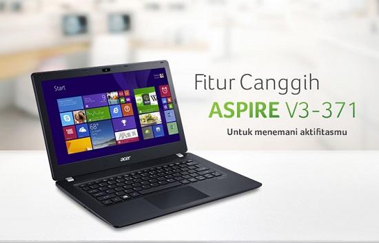 Spesifikasi Laptop ACER V3-371 i3 dan Harga Terbaru