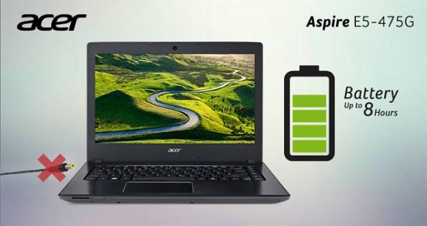 Spesifikasi Laptop Gaming Murah Acer Aspire E5-475G dan Harga Terbaru