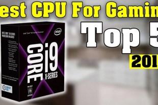 Update Urutan Processor PC Gaming Terbaik Dari Intel Terbaru 2018