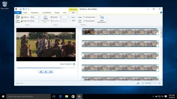 Windows Movie Maker Windows 10