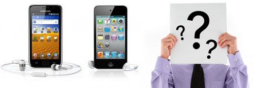 Portable Multimedia Player: Milih Samsung Galaxy Player atau Apple iPod Touch