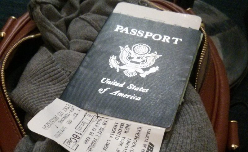 Plane Tickets and Visas
