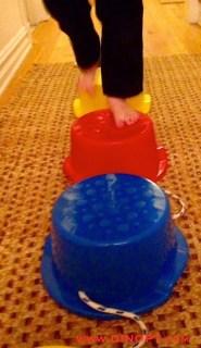 apraxia bucket bridge
