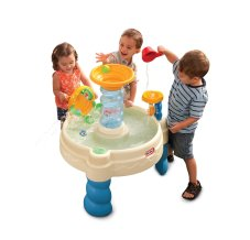 Toys to Encourage Independent Standing; water table