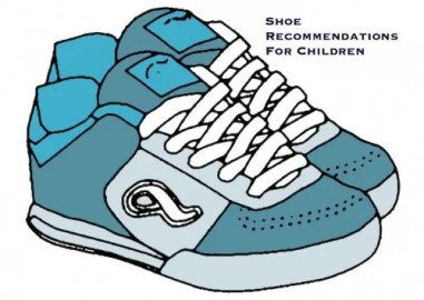 shoe recommendations for children
