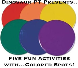 activities with colored spots