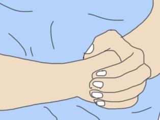 Position des mains Heimlich pour chien et chat
