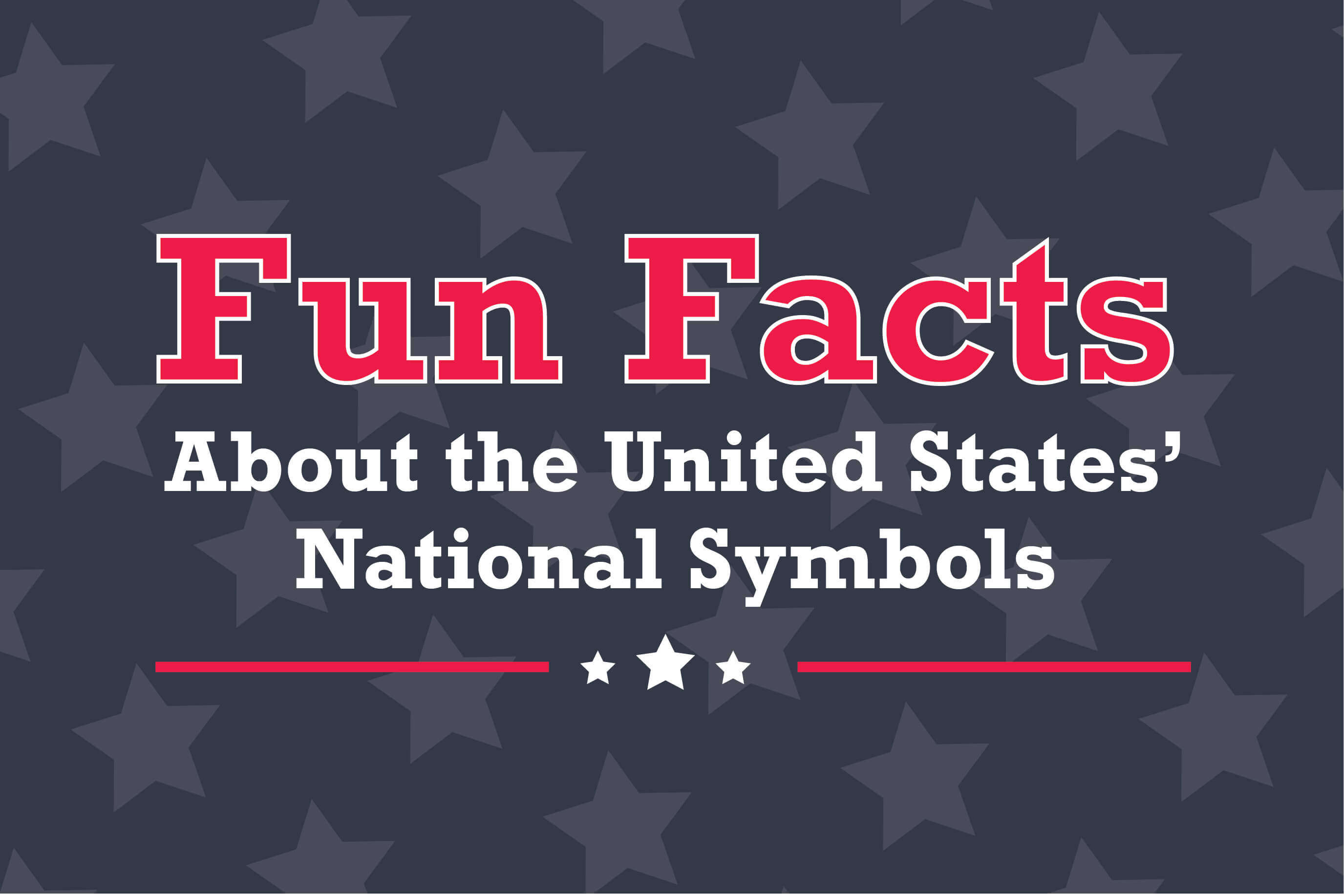 9 National Symbols Of The Usa Amp Fun Facts Infographic