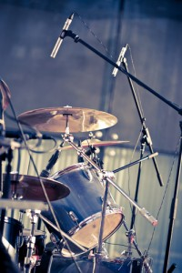 pre-production and recording drums
