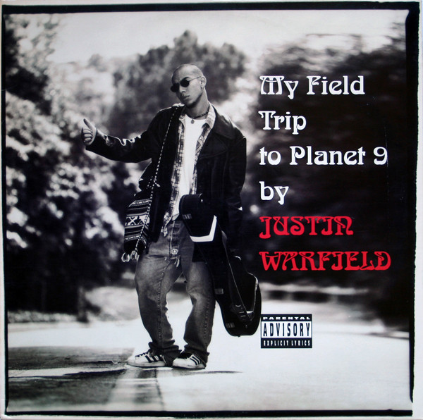 Justin Warfield's album 'My Field Trip To Planet 9' cover artwork