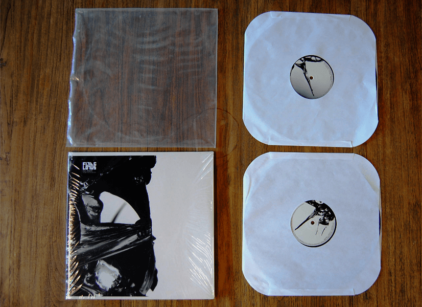 Packaging records for shipping: remove record from its sleeve