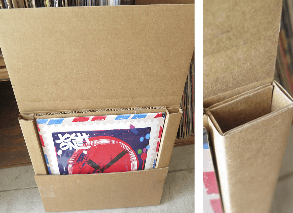record mailer from discogs