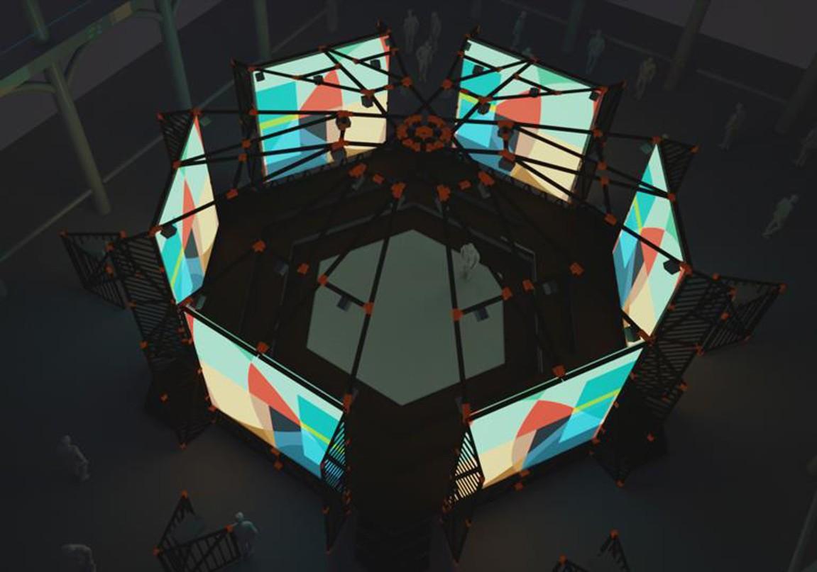 Hexadome exhibition at Martin Gropius Bau