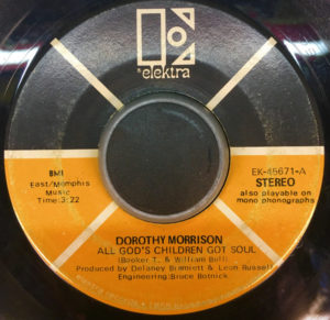 Dorothy Morrison ‎– All God's Children Got Soul