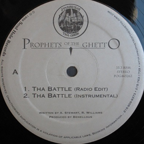 Prophets Of The Ghetto ‎– Tha Battle : Suave' Soul