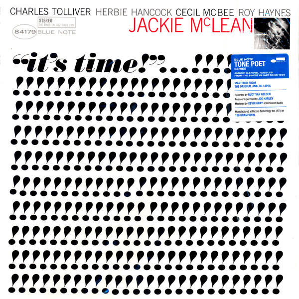 Jackie McLean ‎– It's Time!