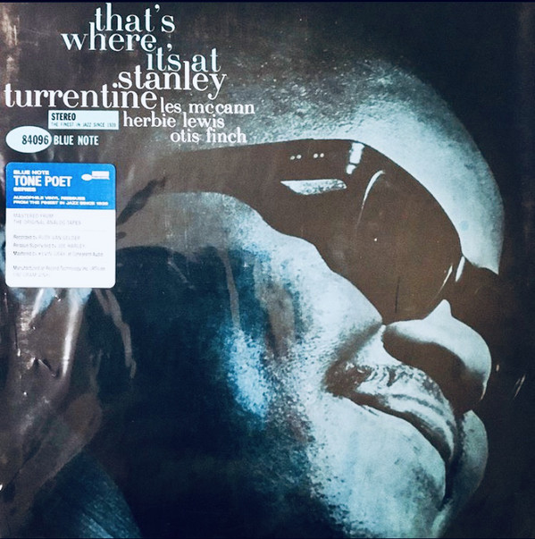 Stanley Turrentine ‎– That's Where It's At