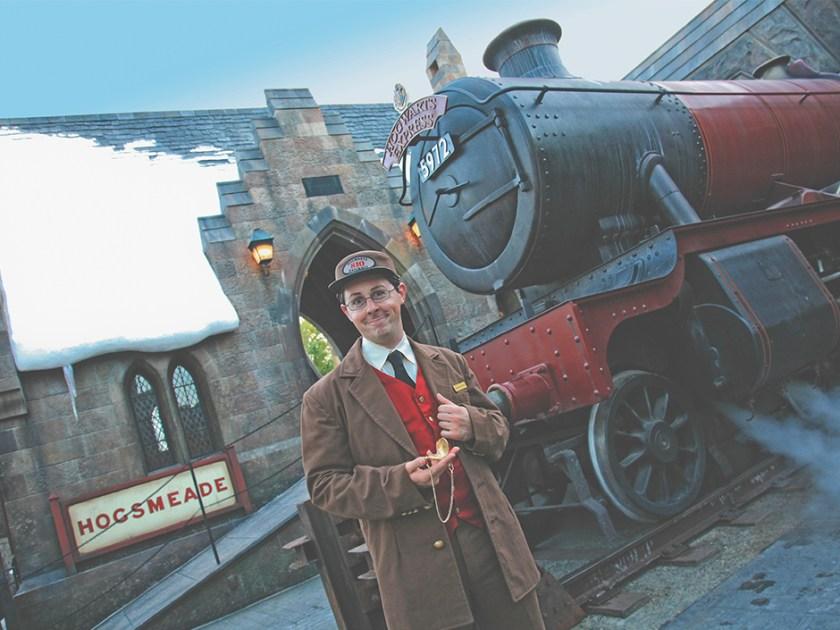 Conductor del Expreso de Hogwarts