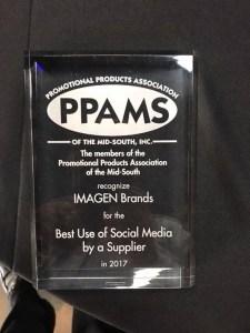 PPAMS Award for IMAGEN Brands