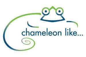 chameleon like logo