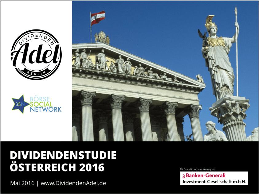 Studie Österreich 2016 Deckblatt