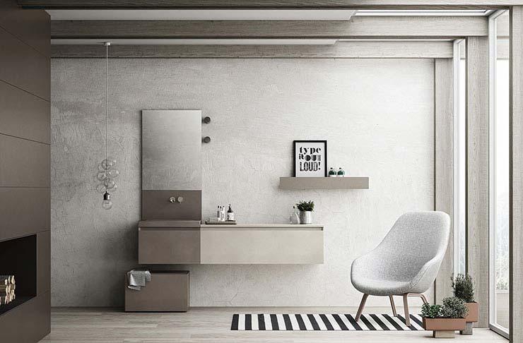Minimalist designs for monochromatic bathrooms on Monochromatic Bathroom Ideas  id=97998