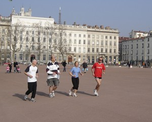 Jogg'in City - Place Bellecour