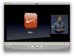 Keynote WWDC - iPhone 3G S - Nike+