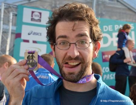 Ekiden de Paris 2015 - Médaille