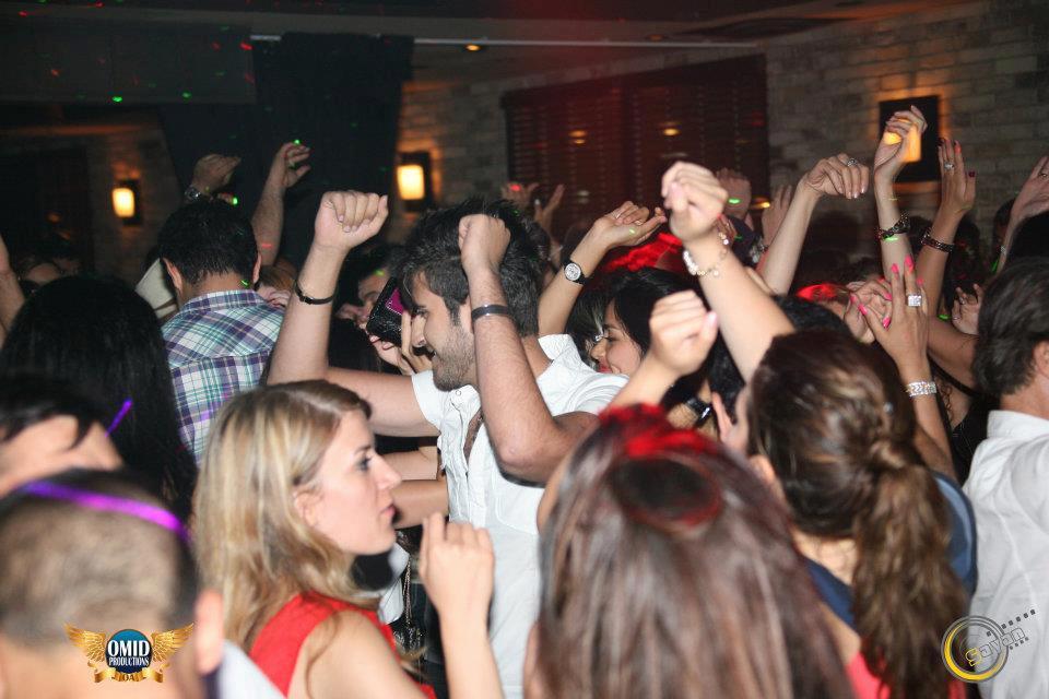 Persian party in Toronto Marlowe with DJ Borhan