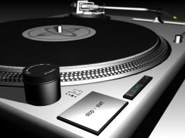 Persian DJ Mix turntable