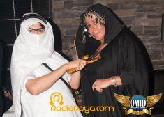 Persian halloween club party Marlowe