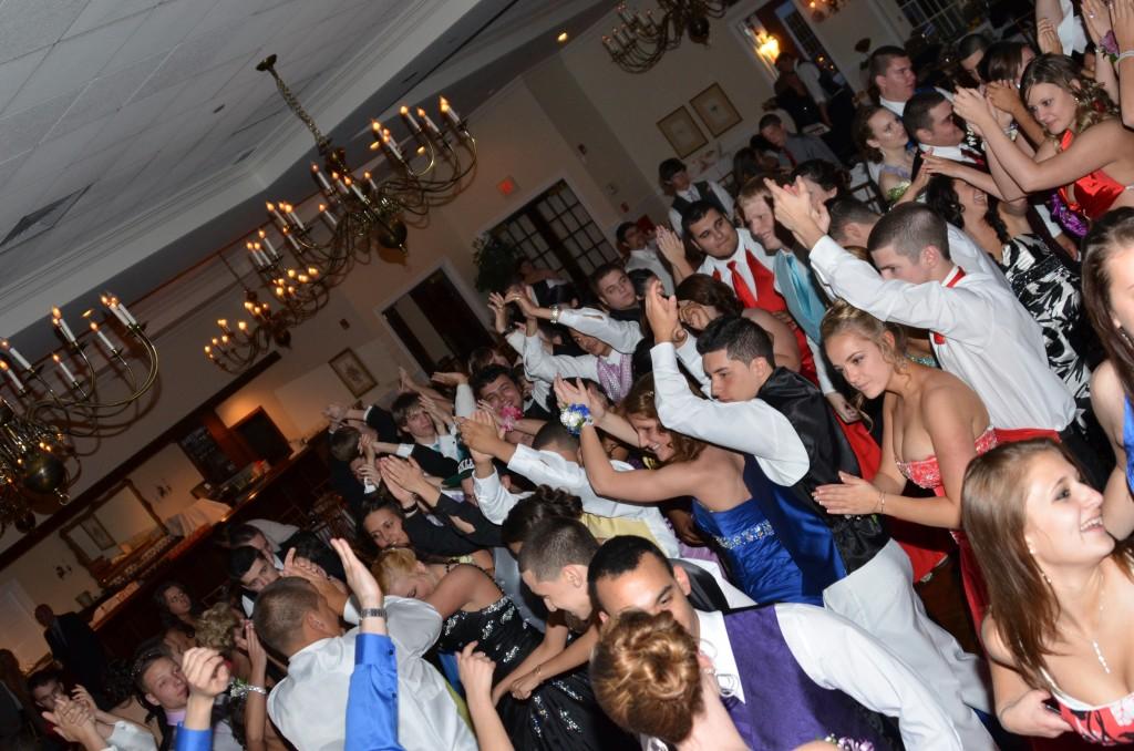 School dance prom DJ