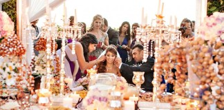 Persian wedding ceremony