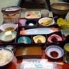 芦ノ牧温泉での朝食