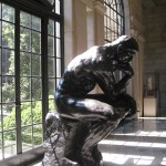 The Thinker by Auguste Rodin, 1904-1917, Baltimore Museum of Art