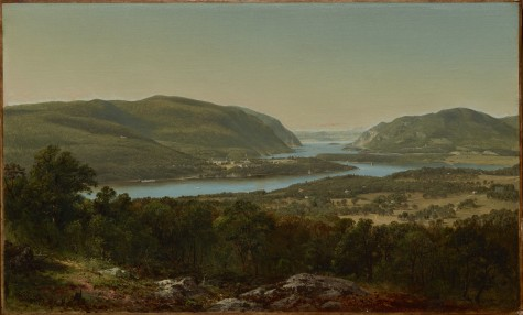 "David Johnson, ""View from Garrison, West Point, New York,"" 1870, oil on canvas, Dallas Museum of Art, The Patsy Lacy Griffith Collection, gift of Patsy Lacy Griffith by exchange, and General Acquisitions Fund, 2012.6"
