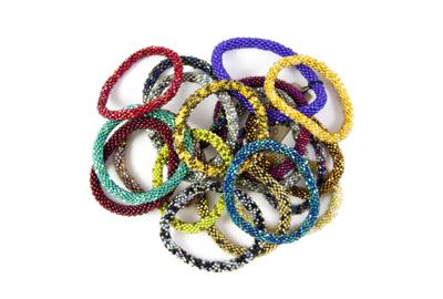 Beaded Bracelets, $18
