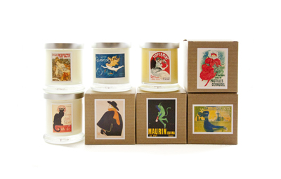 Posters of Paris Candles, $35