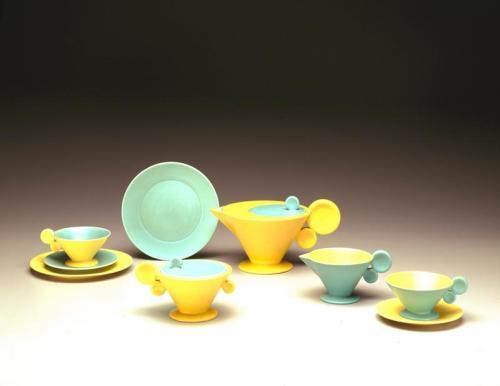 Margarete Heymann-Marks, Tea Service, designed c. 1930, designer, Dallas Museum of Art, 20th-Century Design Fund