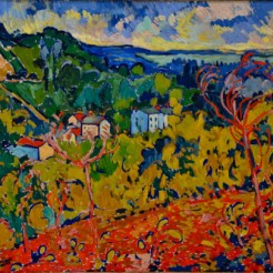 Maurice de Vlaminck, Bougival, c. 1905, Dallas Museum of Art, The Wendy and Emery Reves Collection